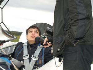 Hörfunk-Interview nach dem Flug: Serhad Yildirim, 17