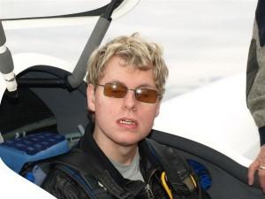 Kevin Bobbert, 20, vor dem Start