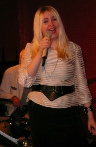 Sängerin Inna Vysotska