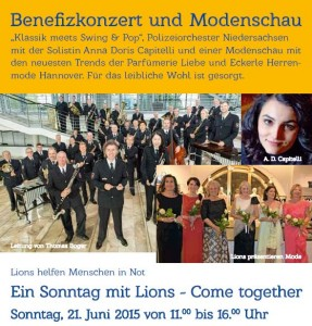 Einladung Lions Come Together