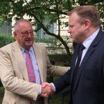 Olaf Bödecker übergibt das Präsidium des Lions Clubs Hannover-Tiergarten an Achim Kraushaar
