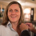 Martina Pluschke wird in den Lions Club aufgenommen