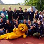 Familienbild: Leos und Lions