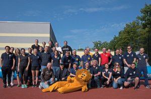 Alle Teilnehmer des Leo-Lions-Familientages