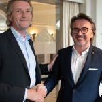 Hans-Peter Möller übergibt das Präsidium an Adrian Marius Grandt