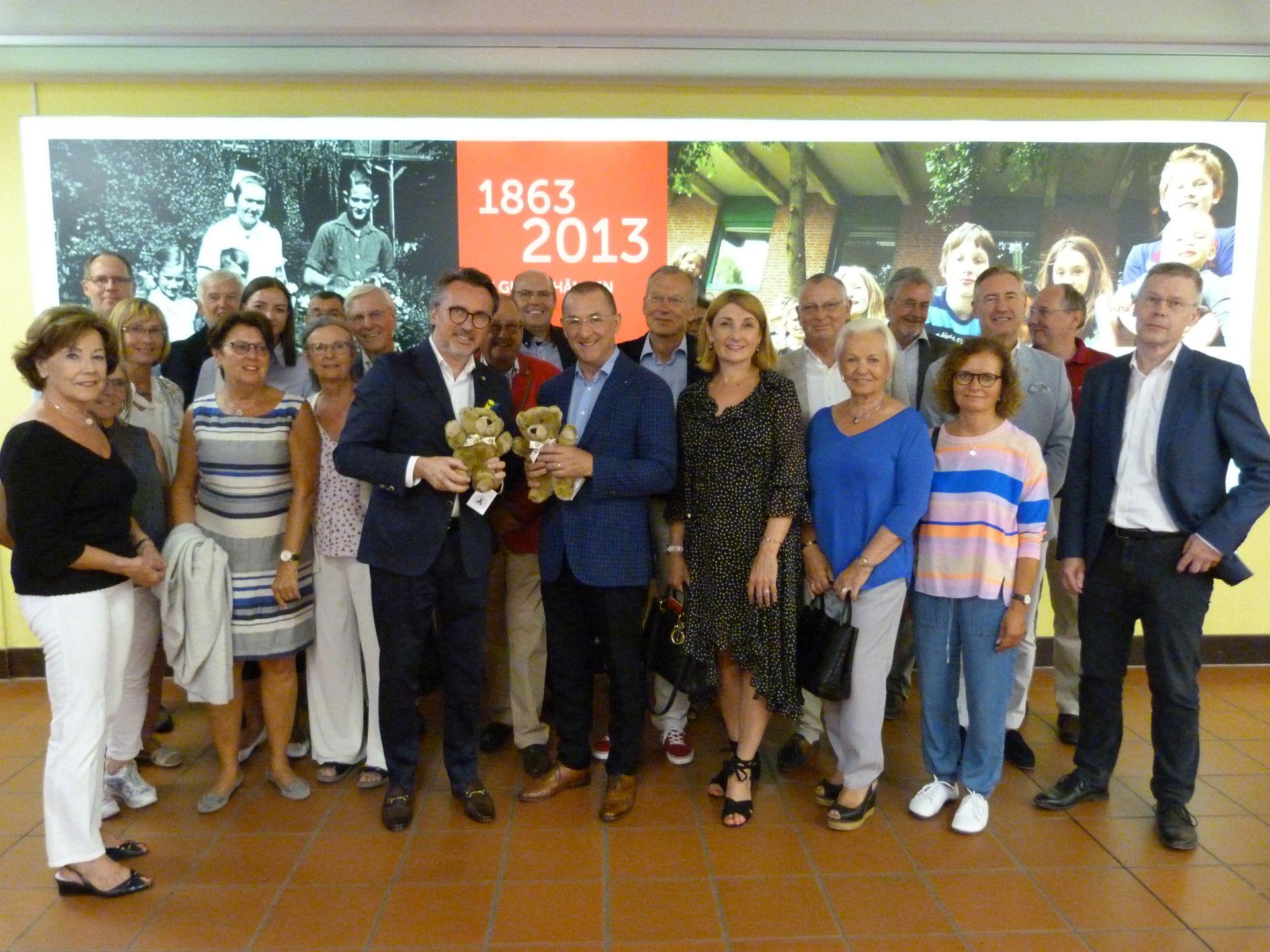 Lions Club Hannover-Tiergarten zu Gast im Kinderkrankenhaus Auf der Bult