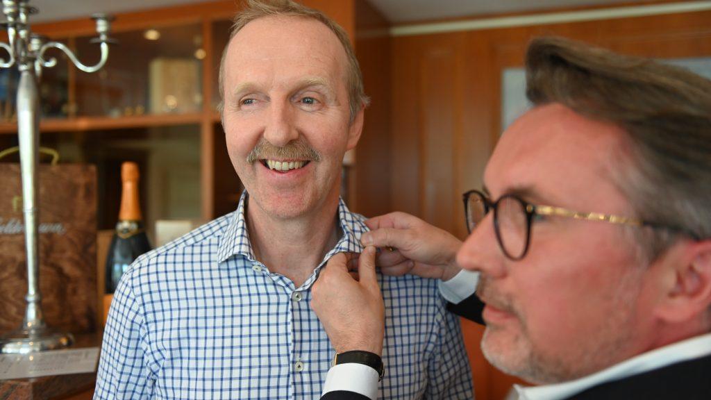 Aufnahme von Dr. Heinz-Uwe Eschweiler