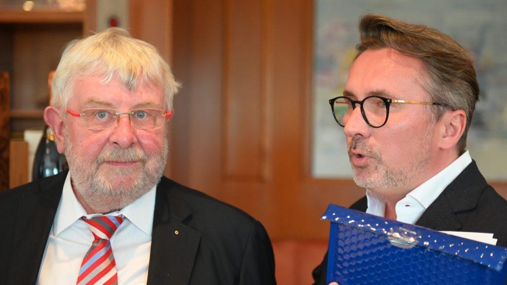 Aufnahme von Prof. Rainer Bernd Voges